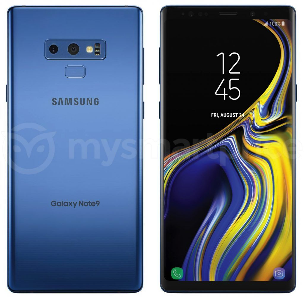 Samsung Galaxy Note 9 Coral Blue