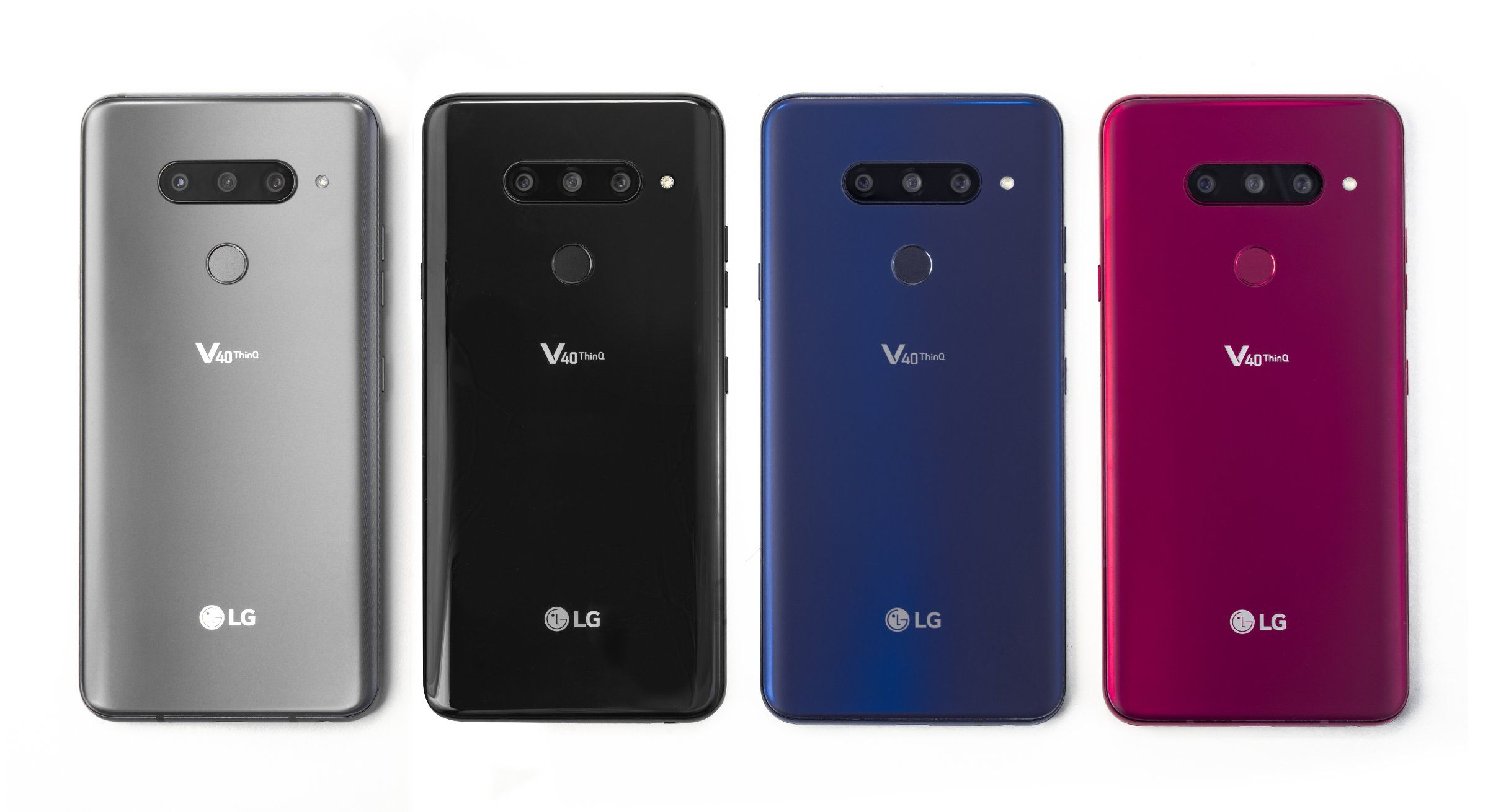LG V40 ThinQ colours