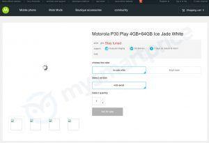 Moto P30 Play