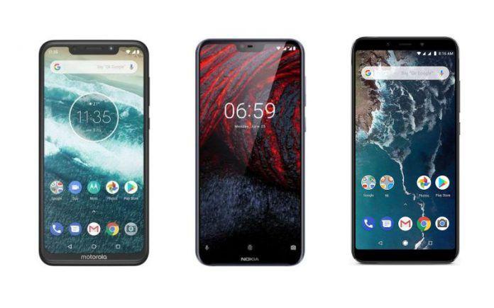 Motorola One Power vs Nokia 6.1 Plus vs Xiaomi Mi A2