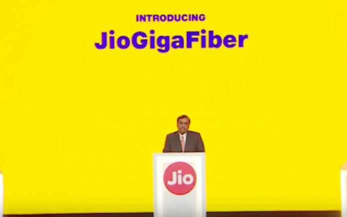 Jio GigaFiber