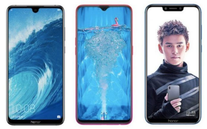 Honor 8X Max vs Oppo F9 Pro vs Honor Play: Specifications, Features