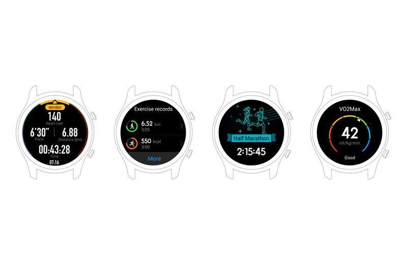 Huawei Watch GT Lite OS UI