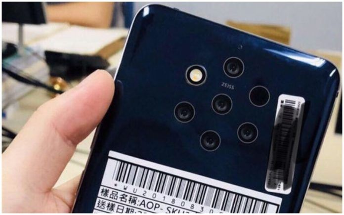 Nokia 9 Penta Lens Camera Image