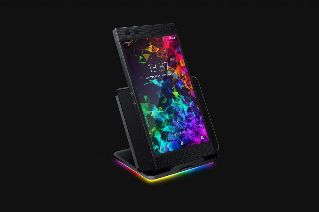 Razer Phone 2 Wireless Charger RGB Chroma Lighting