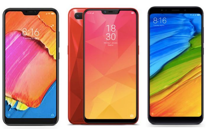 Redmi 6 Pro vs Realme 2 vs Xiaomi Redmi Note 5: Price in India