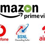 Amazon - Vodafone, BSNL, Airtel