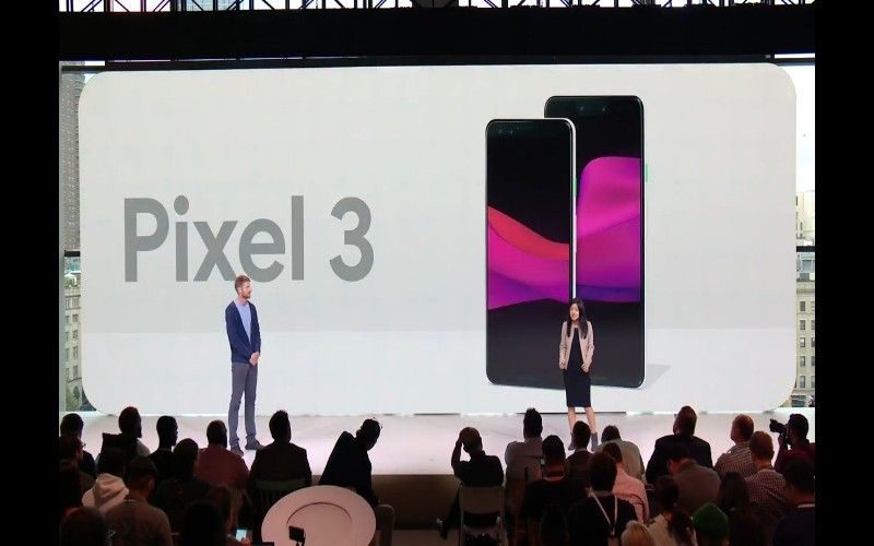 Google Pixel 3 Pixel 3 XL 5.5 inch 6.3 inch displays
