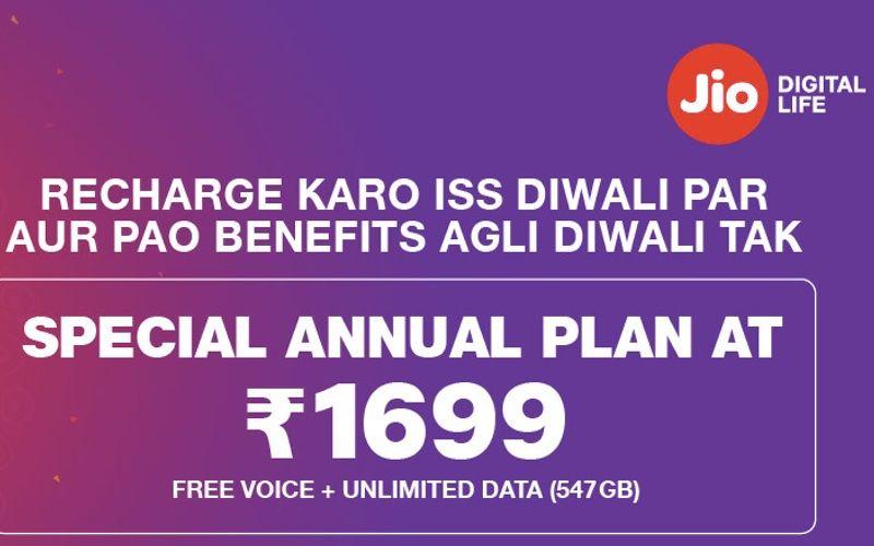 Jio Diwali Offer