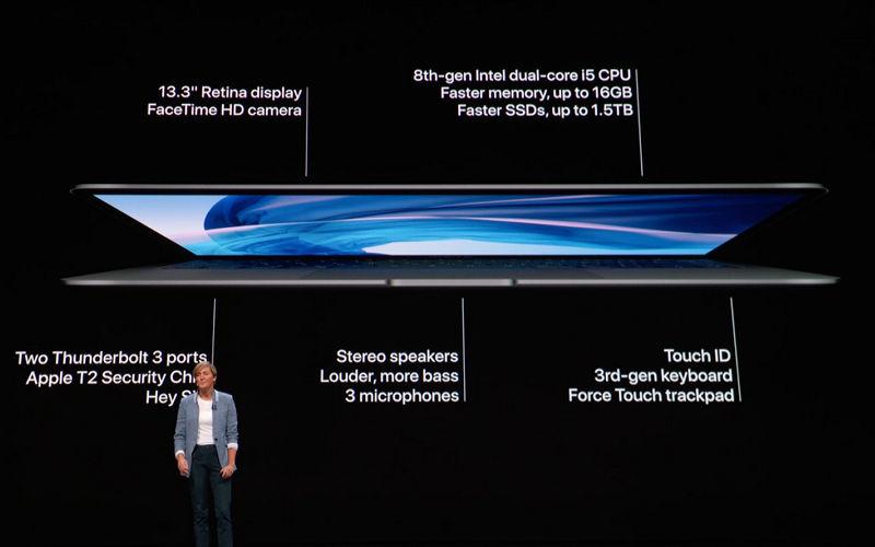 MacBook Air 2018 Apple Launch