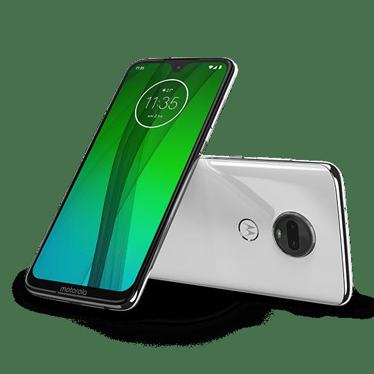Moto G7 Clear White