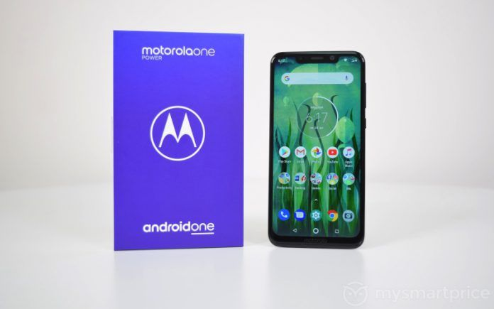 Motorola One Power Running Android 9 Pie Appeared in a New