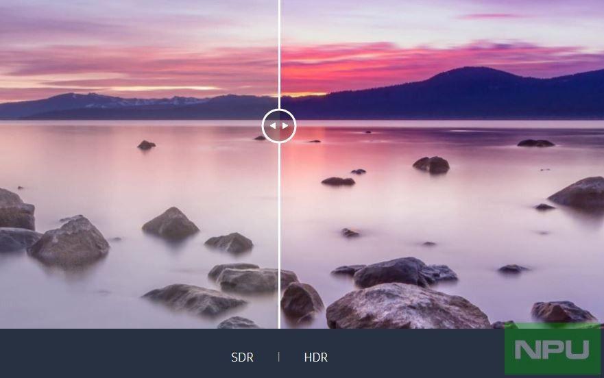 Nokia 7.1 HDR