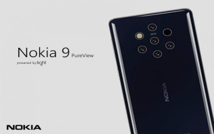 Nokia 9 PureView Spotted Running Android 9 Pie