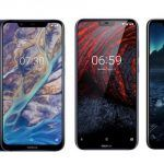Nokia X7 (7.1 Plus) vs Nokia 6.1 Plus vs Nokia 5.1 Plus