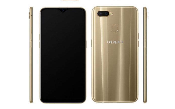 Oppo A7 Render Smartphone