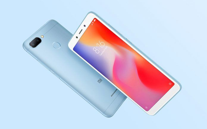 Redmi 6 With Dual Rear Cameras Up for Sale Today on Flipkart, Xiaomi Store