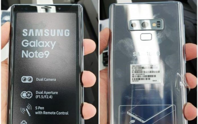 Samsung Galaxy Note 9 Cloud Silver Variant - Copy