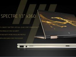 HP-Spectre Laptop