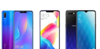 Oppo K1 vs Huawei Y9 vs Oppo R17 Pro