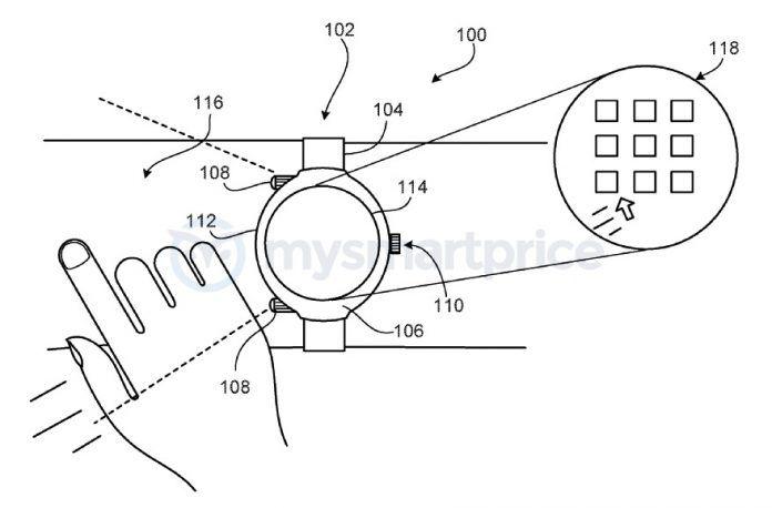 Google Smartwatch Patent