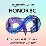 Honor 8C launch India Amazon