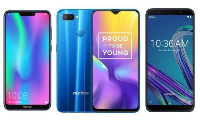Honor 8C vs Realme U1 vs Asus Zenfone Max Pro M1: Price in