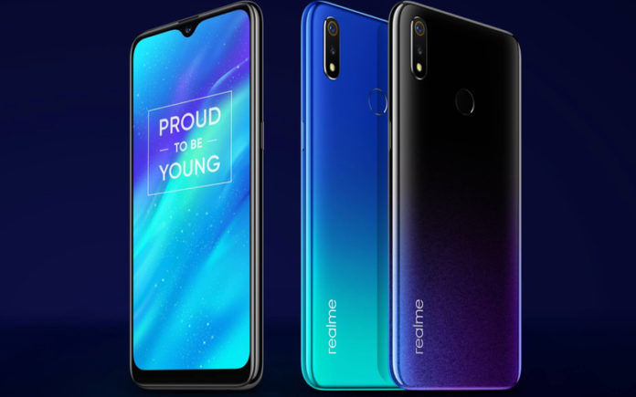 8c6f242dbb1 Realme 3 Radiant Blue Color Variant First Sale Date Announced
