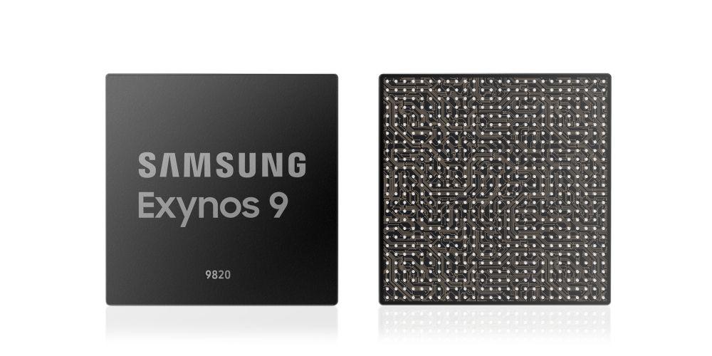Samsung Exynos 9820 Chipset Front & Rear