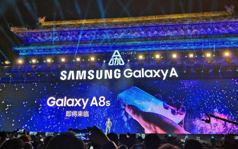 Samsung Galaxy A8s Could Come with Infinity-O Cut Out Display,