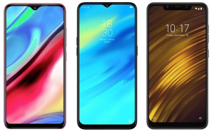 Vivo Y95 vs Realme 2 Pro vs Xiaomi POCO F1- Price in India, Specifications, Features Comparison