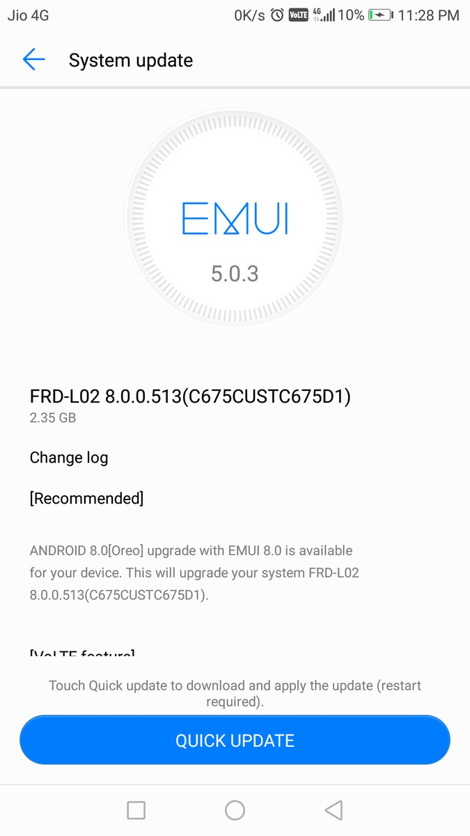 Honor 8 Receives EMUI 8 0 Update Based on Android 8 0 Oreo