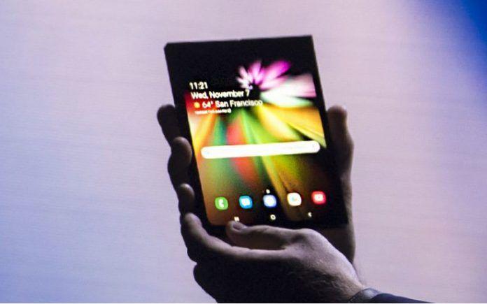Samsung Galaxy Foldable Screen Phone