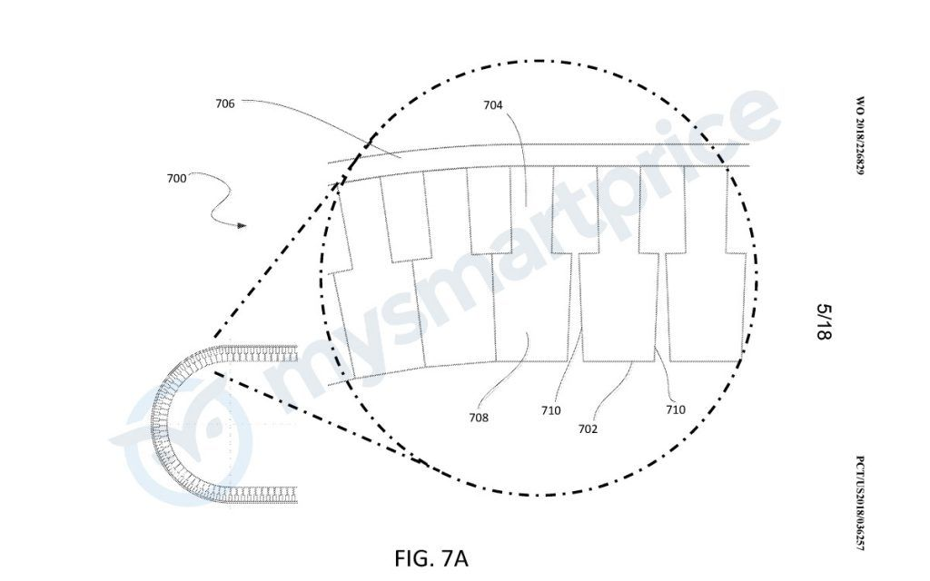 Google Foldable Phone Patent Shape Memory Alloy