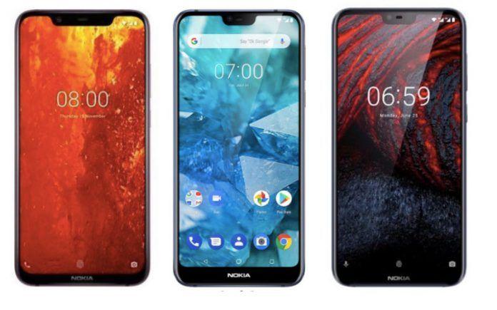 Nokia 8 1 vs Nokia 7 1 vs Nokia 6 1 Plus: What's Different