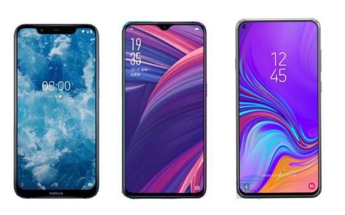 Nokia 8.1 vs. OPPO R17 Pro vs. Samsung Galaxy A8s