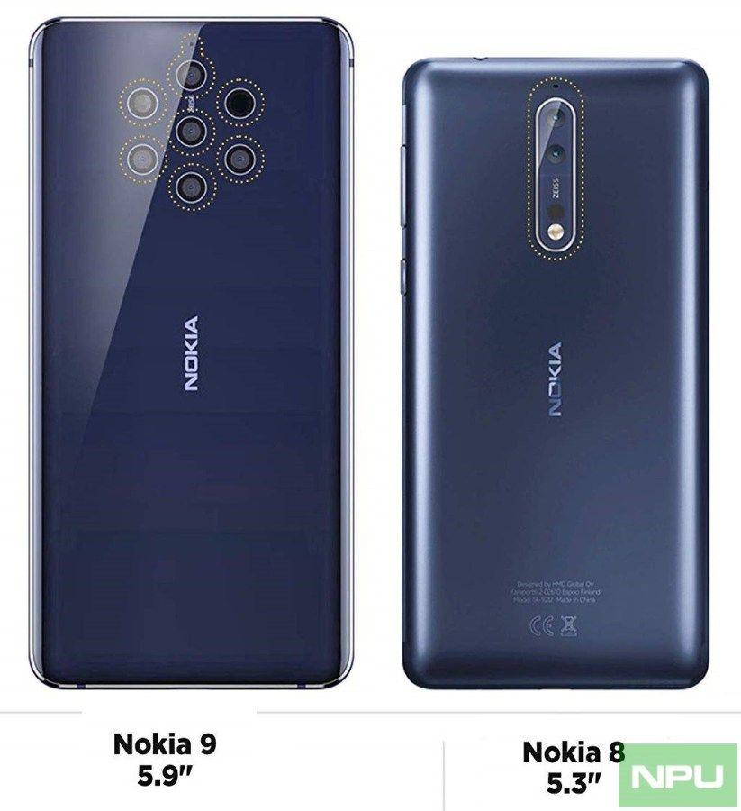 Nokia 9 Nokia 8