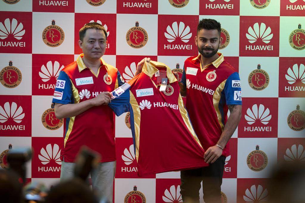 Royal Challengers Bangalore Jersey 2015 Huawei