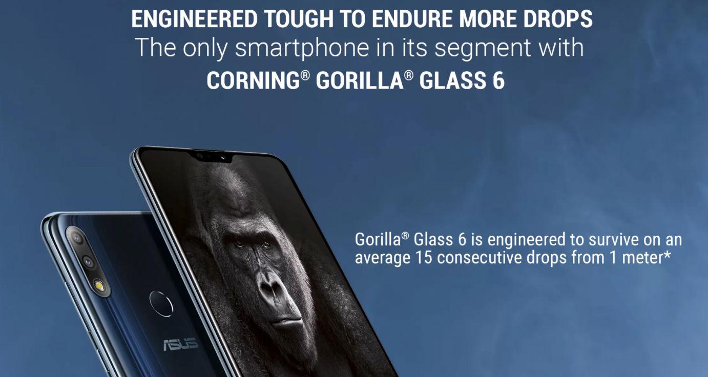 Asus Corning Gorilla Glass 6