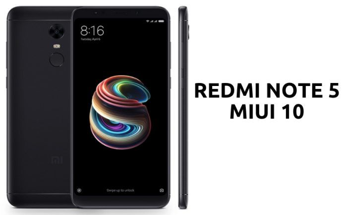 Xiaomi Redmi Note 5 Gets New MIUI 10 Update with Multiple Bugs Fixes