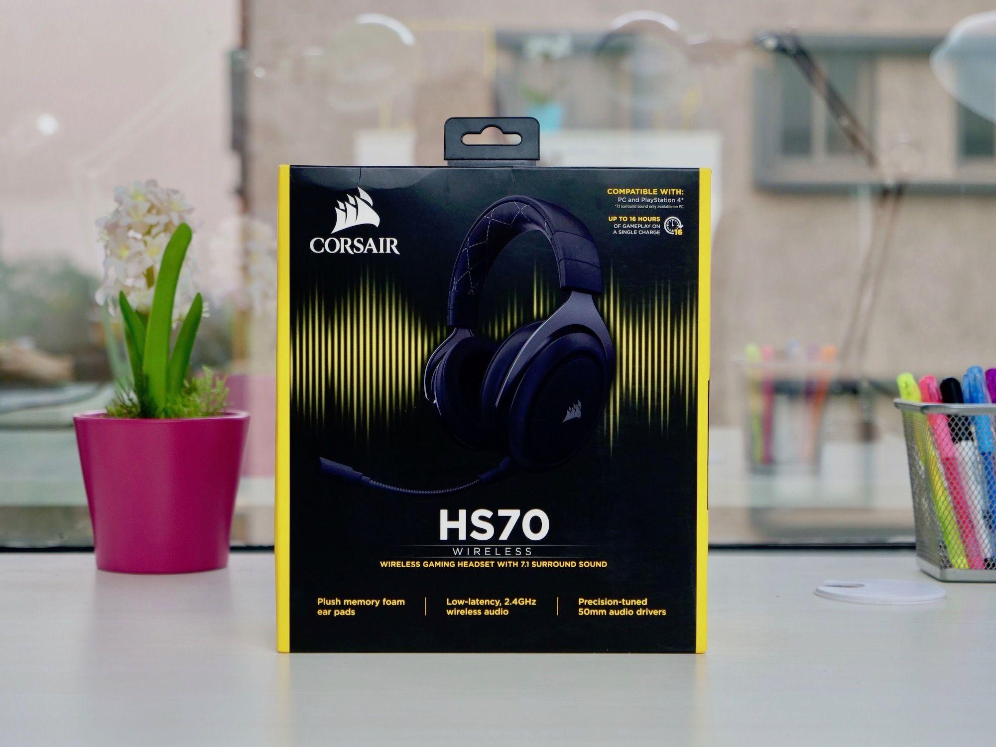 Corsair HS70 Review: Good Wireless Gaming Headset Under $100 - MySmartPrice