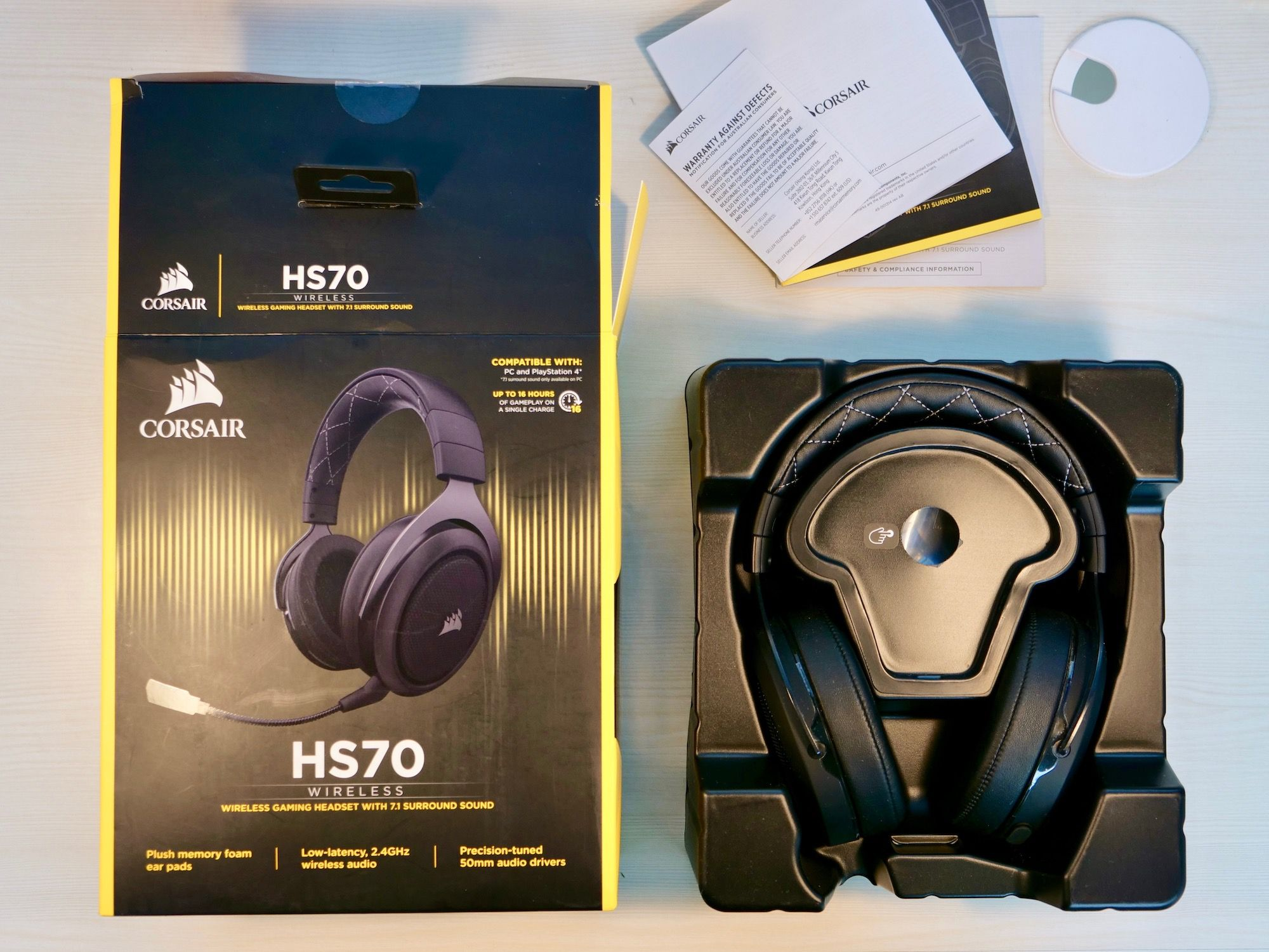 Corsair HS70 Review: Good Wireless Gaming Headset Under $100 - MySmartPrice