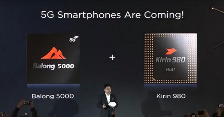 Huawei Balong 5000 5G Chip
