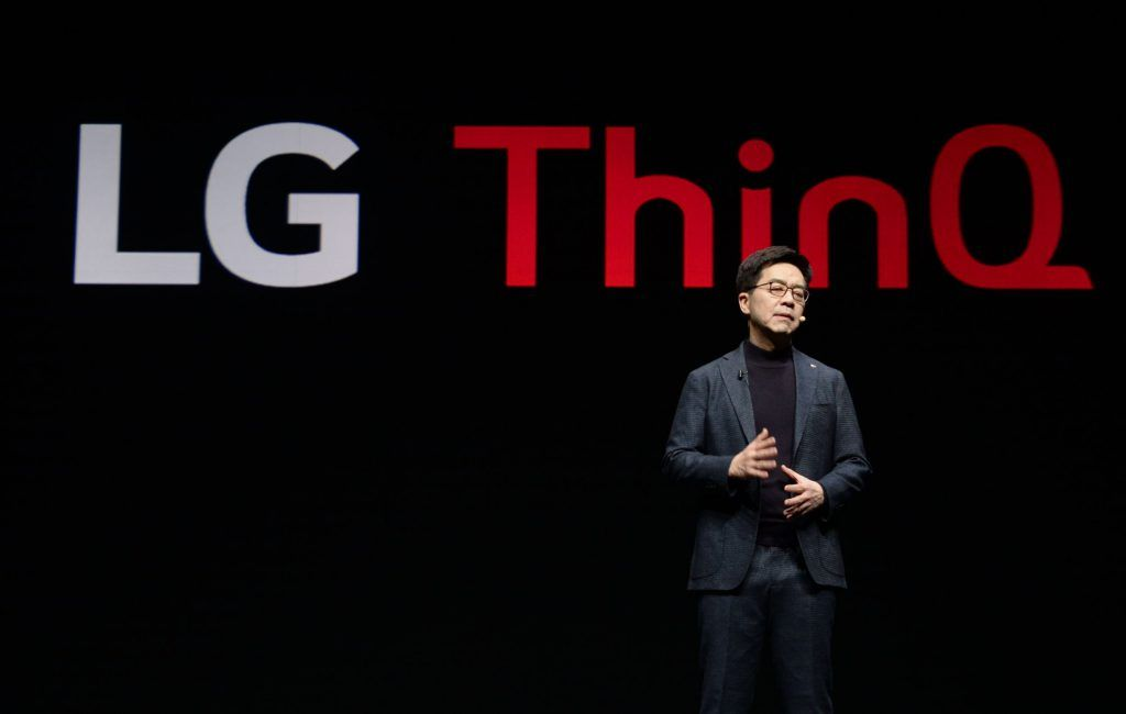 LG CES 2019 Keynote Delivered By CTO Dr. I P Park