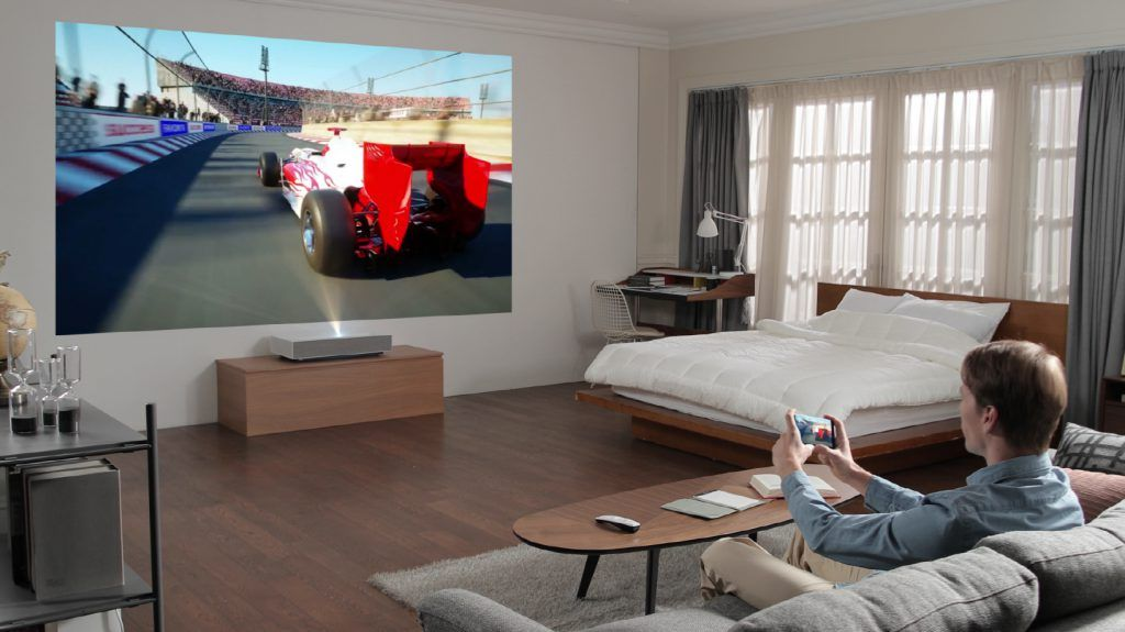LG CineBeam Ultra Short Throw 4K Laser Projector