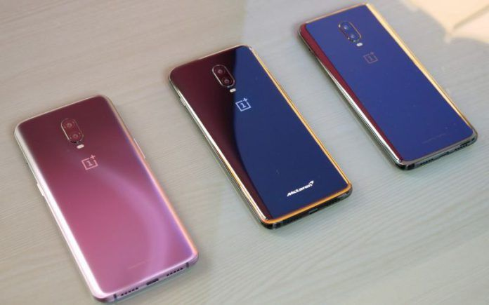OnePlus 6 6T Purple Black McLaren