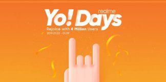 Realme Yo Days sale January 2019