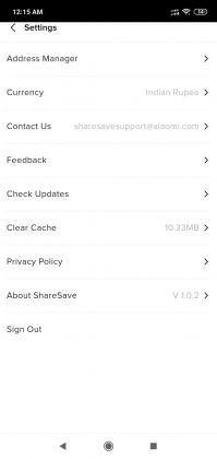 ShareSave App