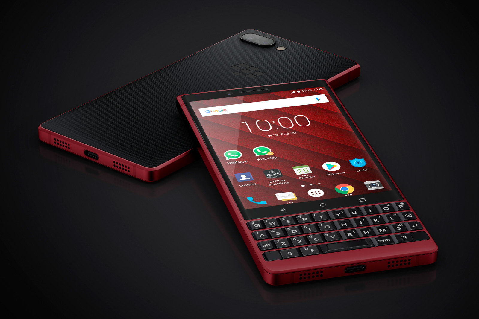 BlackBerry Key2 LE Red