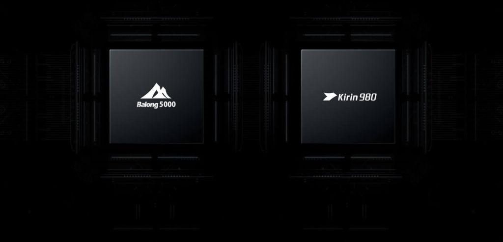 Huawei Mate X Kirin 980 Processor Balong 5000 5G Modem